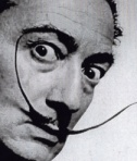 Salvador Dali has one of the most famous moustaches of all time.